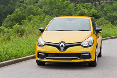 Renault CLIO RS 2013 Model Royalty Free Stock Photos