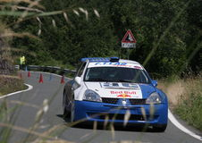 Renault Clio Super 1600 raceauto Royalty-vrije Stock Foto