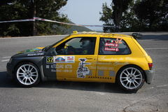 Renault Clio super 1600  rally car Royalty Free Stock Image