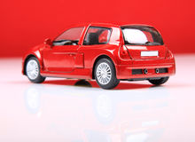 Renault clio V6 sport back view Royalty Free Stock Photography