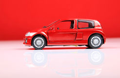 Renault clio V6 sport side view Stock Image