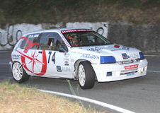 Renault Clio Williams racing Royalty Free Stock Images
