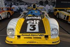 Renault commémore 40 ans de victoire photographie stock libre de droits