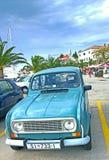 Renault d'annata 4 Immagine Stock
