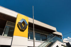Renault dealership Royalty Free Stock Photos