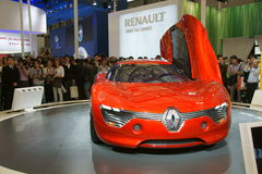Renault dezir Royalty Free Stock Photo
