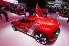 Renault DeZir electric car Stock Images