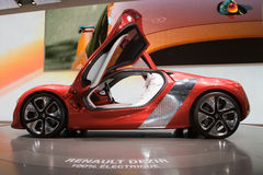 Renault Dezir Electric Concept - Geneva 2011 Royalty Free Stock Images