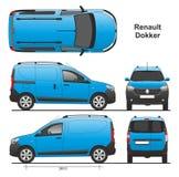 Renault Dokker Van 2013 Стоковые Изображения