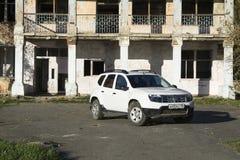 Renault Duster biel Obrazy Stock