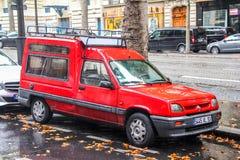 Renault Ekspresowy Obraz Royalty Free