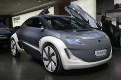 Renault electric concept car Stock Image