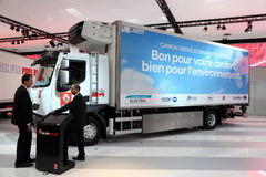 Renault Electric Truck Royalty Free Stock Photo