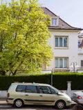 Renault Espace car in France with house behind Royalty Free Stock Photography