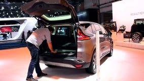 Renault Espace MPV car stock video