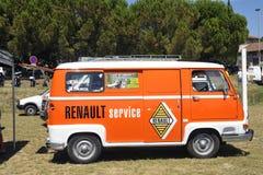 Ανίχνευση μηχανικών βλαβών της Renault Estafette των 60 Στοκ Εικόνες