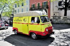 Renault Estafette the assistance of 1960 Royalty Free Stock Photos