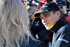 Renault F1 pilot Vitaly Petrov Royalty Free Stock Photos