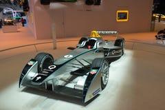 Renault F1 racing car. Frankfurt international motor show (IAA) 2013. Renault F1 racing car Stock Photo