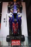 Renault F1 racing car. Chengdu Motor Show, China Royalty Free Stock Images