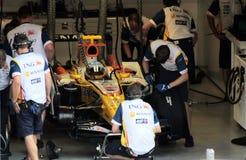 Renault F1 Monza 2008 Fotografía de archivo libre de regalías