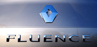 Renault Fluence Royalty Free Stock Image