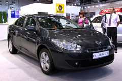 Renault Fluence Royalty Free Stock Images