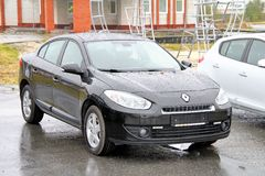 Renault Fluence Stock Photos
