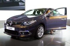 Istanbul Auto Show 2012 Arkivfoton