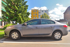 Renault Fluence parked Royalty Free Stock Photo