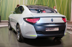 Renault Fluence VE concept car Royalty Free Stock Photo