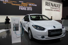 RENAULT Fluence ZE Immagine Stock