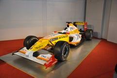 Renault Formula 1 bil Arkivfoton