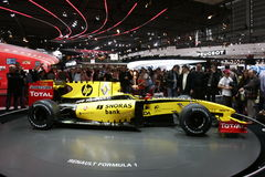 Renault formula one Royalty Free Stock Images