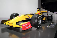Renault Formula One - 2010 Geneva Motor Show Royalty Free Stock Photo