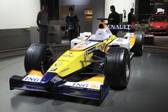 Renault Formula1 car Stock Photography