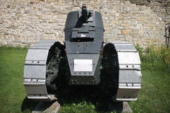Renault FT-17. Light French tank with Girod turret displayed in military museum on Kalemegdan, Belgrade, Serbia Stock Image