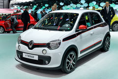 Renault at the 2014 Geneva Motorshow. The new Renault Twingo at the 2014 Geneva Motorshow Royalty Free Stock Photography