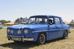 Renault 8 έτοιμη Gordini φυλή Στοκ Φωτογραφία