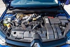 Renault GT sportmotor 2017 Arkivbild