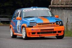 Renault 5 GT Turbo Royaltyfria Foton