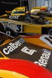 Renault herdenkt 40 jaar van overwinning op de kring van Le Mans royalty-vrije stock afbeeldingen