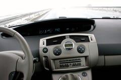 Renault II escénico en la carretera Imágenes de archivo libres de regalías