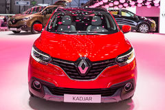 2015 Renault Kadjar. Geneva, Switzerland - March 4, 2015: 2015 Renault Kadjar presented on the 85th International Geneva Motor Show Stock Photos