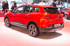 2015 Renault Kadjar. Geneva, Switzerland - March 4, 2015: 2015 Renault Kadjar presented on the 85th International Geneva Motor Show Royalty Free Stock Photography