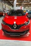 Renault Kadjar visade på den 3rd upplagan av MOTO-SHOWEN i Cracow Polen Arkivbilder