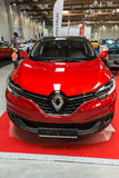 Renault Kadjar zeigte an der 3. Ausgabe von MOTO-ZEIGUNG in Krakau Polen an stockbilder