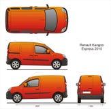Renault Kangoo выражает 2010 Стоковое Изображение RF