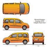 Renault Kangoo выражает 2010 Стоковые Изображения