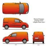 Renault Kangoo выражает 2010 Стоковая Фотография